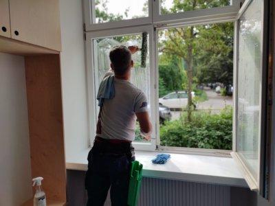 Fenster-reinigen